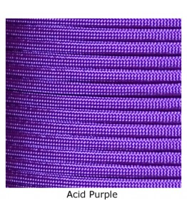 550 Paracord - Acid Purple - 1000'