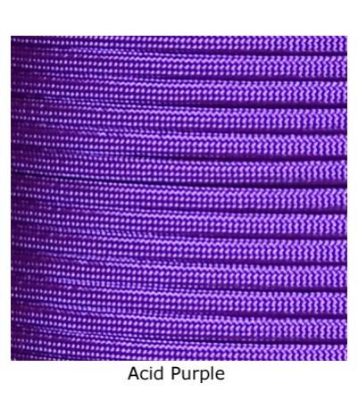 550 Paracord - Acid Purple - 100'