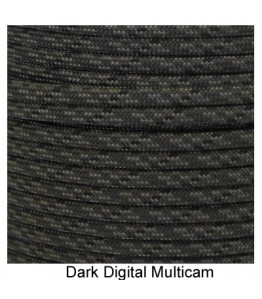 550 Paracord - Dark Digital Multi Camo - 100'