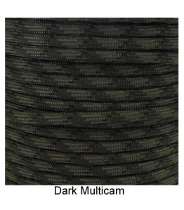 550 Paracord - Dark Multi Camo - 100'