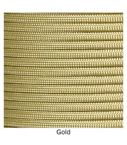 550 Paracord - Gold - 100'