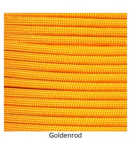 550 Paracord - Goldenrod - 100'