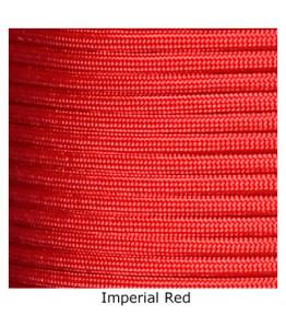550 Paracord - Imperial Red - 100'