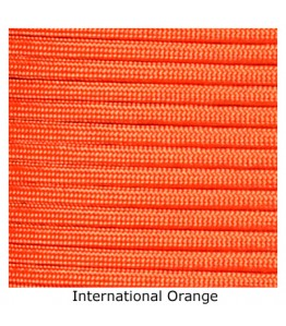 550 Paracord - International Orange - 100'