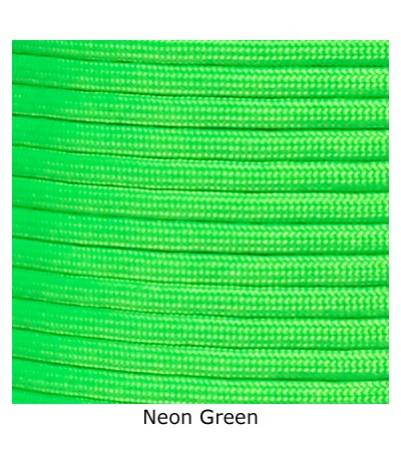 425 Tactical - Neon Green - 100'