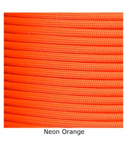550 Paracord - Neon/Safety Orange - 100'