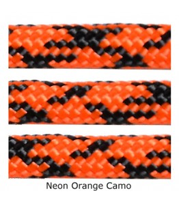 550 Paracord - Neon Orange Camo - 100'