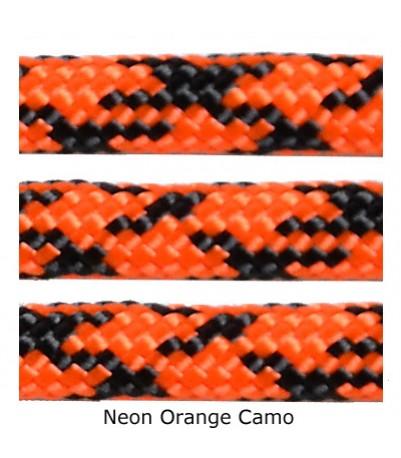 550 Paracord - Neon Orange Camo - 100'
