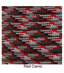 550 Paracord - Red Camo - 100'