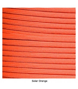 550 Paracord - Solar Orange - 100'