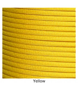 550 Paracord - Yellow - 100'