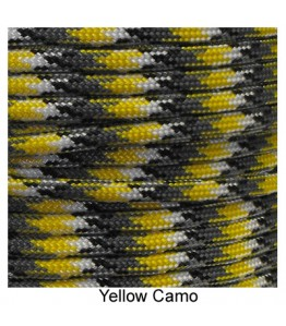 550 Paracord - Yellow Camo - 100'