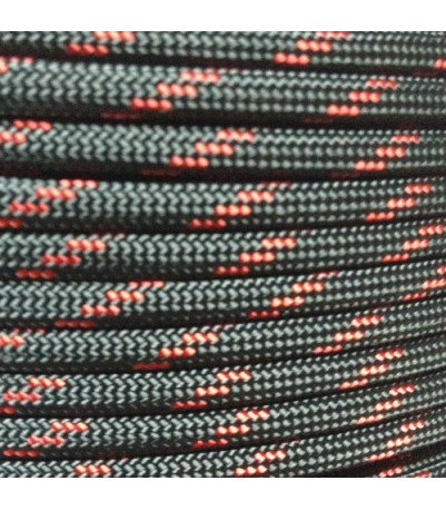 550 Paracord - Thin Red Line - 100'
