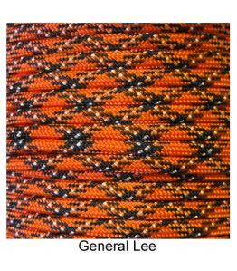 550 Paracord - General Lee - 100'