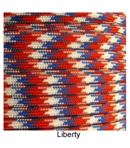 550 Paracord - Liberty - 100'