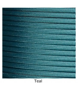 550 Paracord - Teal - 100'