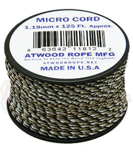 Micro Cord - 1.18mm - Patterns - 125' Spool