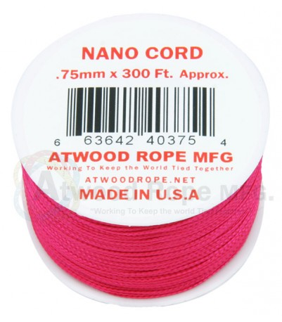 Nano Cord - .75mm - Solid Color - 300' Spool