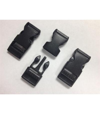 "Buckle, Flat - .500 (1/2"") Single-side Adjuster"