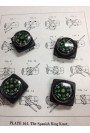 Compass - 20mm - with mount - 4pk
