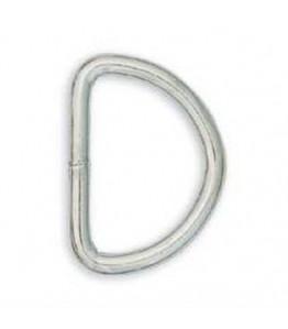 "Solid Dee 1/2"" (1.3 cm) Nickel Plated 10/pk"