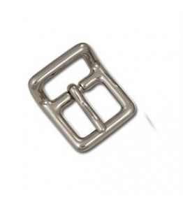 "Buckle, Strap - 5/8"" Nickel Plate"