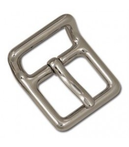 "Buckle, Strap - 1"" Nickel Plate"