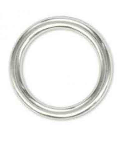 "Solid Ring 1-1/2"" (3.8 cm) Nickel Plated 10/pk"