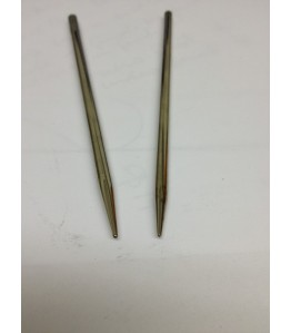 "4"" 3.5mm and 4mm Lacing Needle Kit - Nickel Plated Brass"
