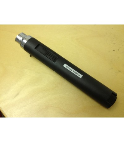 Torch Lighter - Pencil type - Butane - Portable - Black