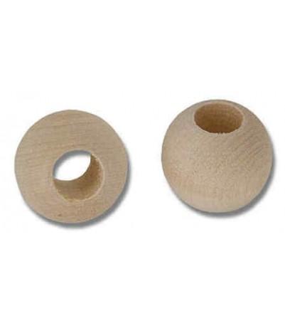 """Beads, Wooden - 3/4"""" -- 10pk"""
