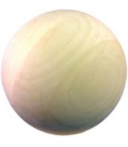 """Balls, Wooden - 1"""" -- 10pk"""