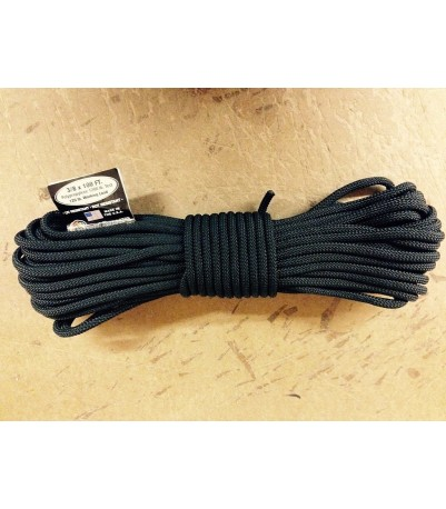 "Atwood Utility Cord -- 3/8"" - Black"