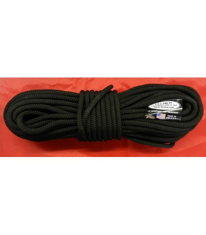 """Atwood Utility Cord -- 1/2"""" - Black"""