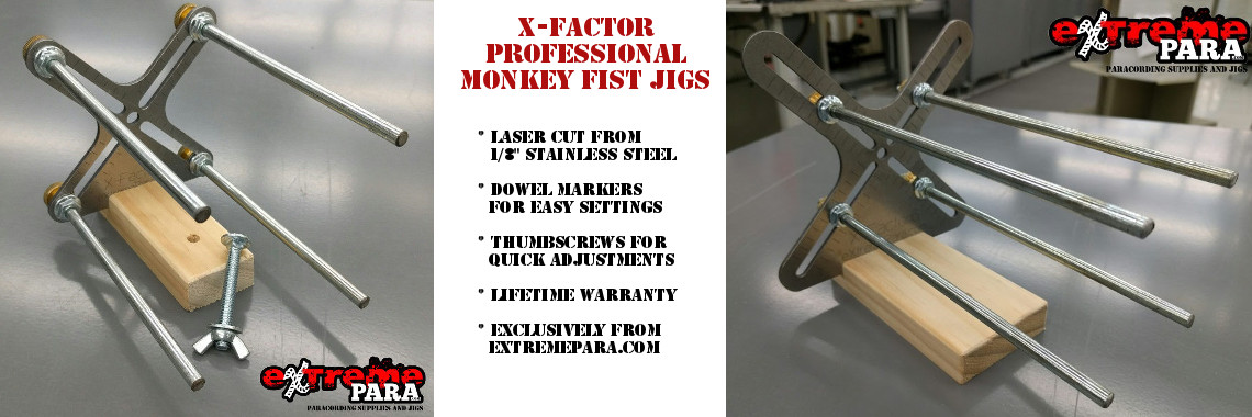 X-Factor Professional Monkey Fist Jig